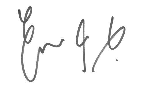 Emma King signature